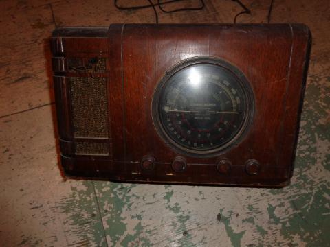 Sa radio vu d'un autre angle.
