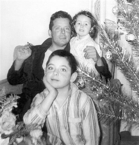 Yvon, Mario et Christiane en 1961-62.